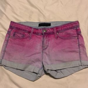Pink Ombré Juicy Couture Shorts